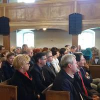 Gäste der Romanikpreisverleihung_Kirche St. Andreas am Kloster Wendhusen ©LTV