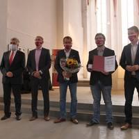 Romanikpreis in Gold für Förderkreis Klosterbauhütte Merseburg e. V. ©Matthias Unfried, LTV