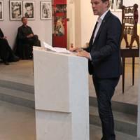 Dr. Marcus Faber zur Stiftung des Romanikpreises ©Matthias Unfried, LTV