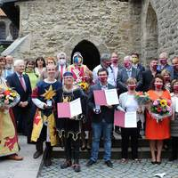 Preisträger und Laudatoren ©Matthias Unfried_LTV