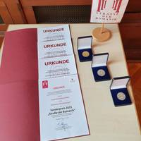 Urkunden und Medaillen ©Ilka Keffel, LTV