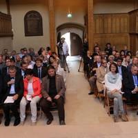 Laudatoren, Preisträger und Gäste der Romanikpreisverleihung_Schlosskirche